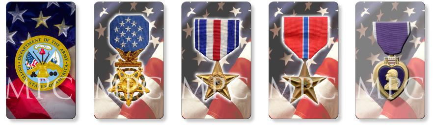 Patriotic and Military Memorial Prayer Cards